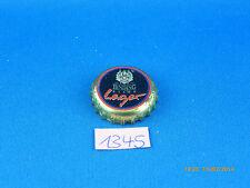 """alter Kronkorken von der Brauerei Binding """"Radeberger"""" Black Lager mit Logo"""