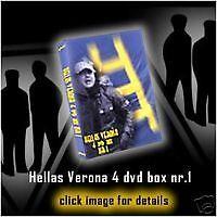 COFANETTO 4 DVD ULTRAS HELLAS VERONA(BRIGATE,BUTEI,SCALIGERI,CURVA SUD,SCALA,BG)