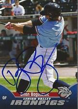 Brian Bogusevic 2015 Lehigh Valley IronPigs Signed Card
