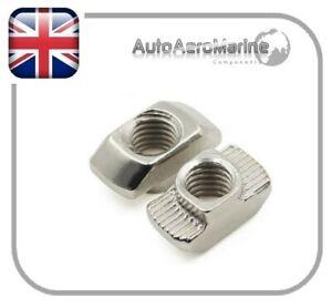 T Nut 2020 Series Aluminium Extrusion CNC/3D Printer Bright Zinc Plated - M5