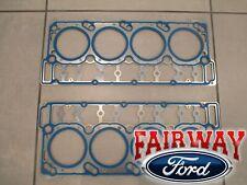 04 thru 07 Super Duty OEM Genuine Ford 6.0 Diesel Head Gaskets QTY-2- 20mm DOWEL