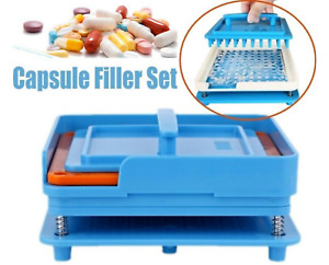 100 Holes Capsule Fillings Machine, Size 000 00 0 1 2 3  ( Size NOT Universal )