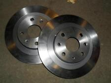 Rear brake discs, Mazda MX-5 1.8 mk1 & mk2, Eunos MX5 251mm solid pair 2 x disks