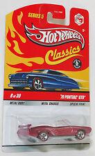 Hot Wheels Classics '70 PONTIAC GTO Magenta 1:64 Series 5