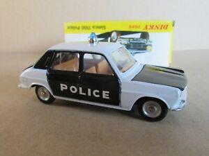 215 G Vintage Dinky Spain 1450 Simca 1100 Police 1:43 +Box