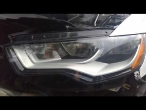 Driver Left Headlight Halogen Fits 12-15 AUDI A6 289119