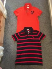 ABERCROMBIE & FITCH Large Polo T Shirts (KIDS) X 2