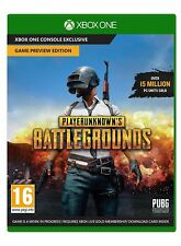 PlayerUnknown's Battlegrounds Preview Edition Xbox One  Download Code PAL SALE