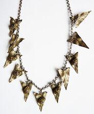 Collier ART NOUVEAU vers 1900 insecte scarabée liseron necklace  bijou