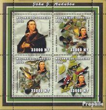 Mosambik 2540-2543 Velletje postfris MNH 2002 Persoonlijkheden