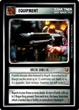 Star Trek: Breen CRM114 [Lightly Played] Rules of Acquisition STCCG Decipher 1E