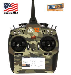 Army Camouflage Spektrum iX12 Skin Wrap Radio Transmitter Ultradecals