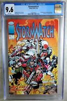 Stormwatch #1 Image 1993 CGC 9.6 NM+ White Pages Comic Q0124