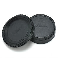 For Nikon AF AF-S Lens DSLR SLR Camera (2PCS) Body Front + Rear Lens Cap Cover