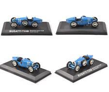 1/43 Blue Alloy BUGATTI T35B Grand Prix Sport 1928 Louis Chiron Car Model Toy