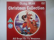 All Dogs Go To Heaven Don Bluth promo dvd Daily Mail