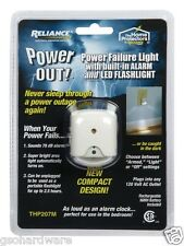 POWER OUT Power Failure Alarm and Safety Light LED THP207M  NiMH battery