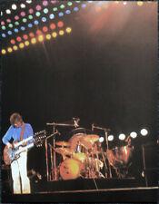 LED ZEPPELIN POSTER PAGE . 1979 KNEBWORTH FESTIVAL CONCERT JIMMY PAGE . V24