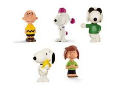 SCHLEICH PEANUTS CHARLIE BROWN & SNOOPY FIGURINE - PARTY FILLER CAKE TOPPER