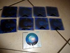 SONY HI MD (1GB)  - MINIDISC - MINI DISC  9 stück