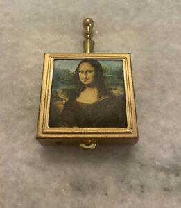 Vintage Mona Lisa Opera Ash Tray Box