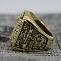 Year 1955 Montreal Canadiens Stanley Cup Championship Copper Ring 8-14Size