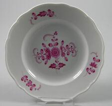 Meissen Speiseteller indisch purpur 24cm ~1890