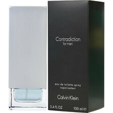 Contradiction by Calvin Klein for Men EDT Spray 3.4OZ/ 100 ML  New In Sealed Box