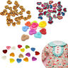 Colorful Plastic & Wood Buttons for Sewing project Scrapbook Card Making 100pcs