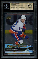2016-17 Upper Deck Mathew Barzal Foil Rookie Young Guns RC #458 BGS 9.5 Gem Mint