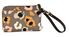 Fossil Multi-Color Zip Around Wristlet Pouch