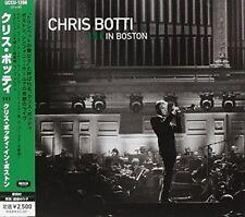 CHRIS BOTTI-CHRIS BOTTI IN BOSTON-JAPAN CD