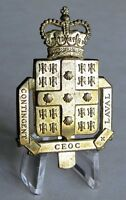 Laval University Quebec City , COTC Cap Badge , P.Q. , Canada , Authorized 1953