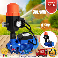 240V Water Pump Automatic Pressure Switch Garden Farm Clean Rain Tank Irrigation