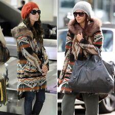 BB Dakota Ashley BOSTWICK Cappotto cammello pelliccia cappuccio Tisdale Blogger Taglia S