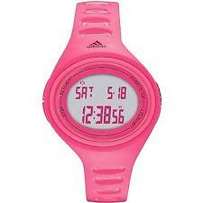 Nuevo Adidas Adizero Silicona Rosa Banda Digital Ovalado Esfera Reloj ADH6131