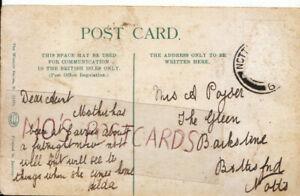 Genealogy Postcard - Family History - Poyser - Bottesford - Notts - 9848A