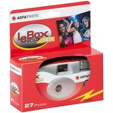 Agfa Photo LeBox 400iso Disposable Camera with Flash, 27 Exp