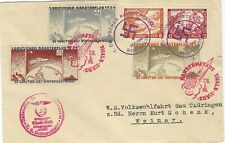 Germany 1934 Rocket Mail cover with Wagner booklet pair to Weimar