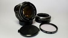 Asahi Pentax Super Takumar Fast f1.4 50mm Prime Lens for M42 Screw or DSLR