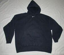 Vintage Nike Center Swoosh Hoodie Sweatshirt Travis Scott XXL Navy Made in USA