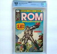 ROM Space Knight # 1 CBCS 9.8 ~ White Pages ~ like CGC ~ 1st appearance ~ 1979
