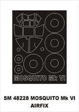Montex Mini Mask 1:48 D.H.Mosquito Mk.VI for Airfix Spraying Stencil #SM48228