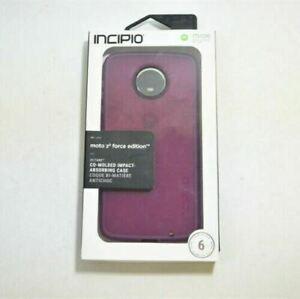 Incipio Octane Raspberry Case For Motorola Moto Z2 Force Edition