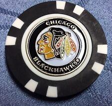 NHL Chicago Blackhawks Poker Chip Ball Marker
