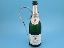 Flaschenhalter - versilbert - Erhardt & Co - #GSF4495