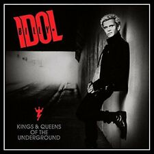 Billy Idol Kings and Queens of The Underground LP Vinyl 33rpm 2014