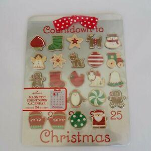 Hallmark Advent Calendar 2010 Countdown to Christmas Cookie Sheet Brand New