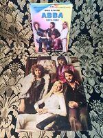 ABBA , Set Book & 2 DVD's,1973-1982 inkl Poster, selten