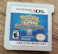 Pokemon Super Mystery Dungeon Nintendo 3DS Authentic Tested